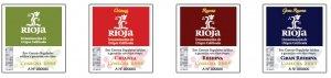 Rioja DOC Wine Labels