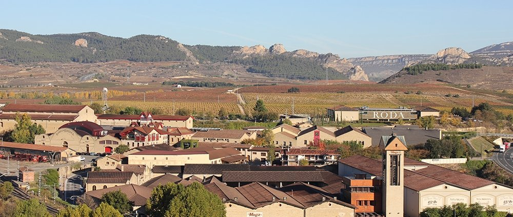 Railway District in Haro Rioja Wine Region