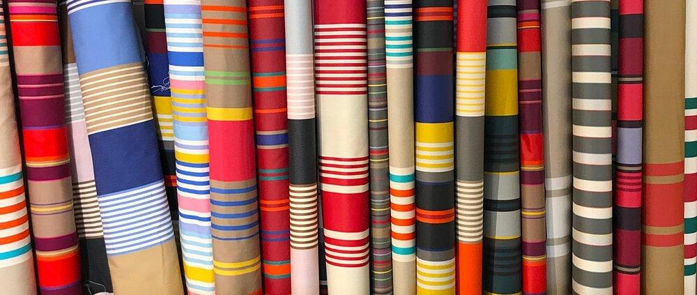 Basque Souvenir: Basque tablecloth patterns